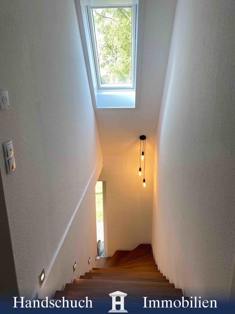 elektrisch gesteuertes Veluxfenster im Flur/Dachgeschoss
