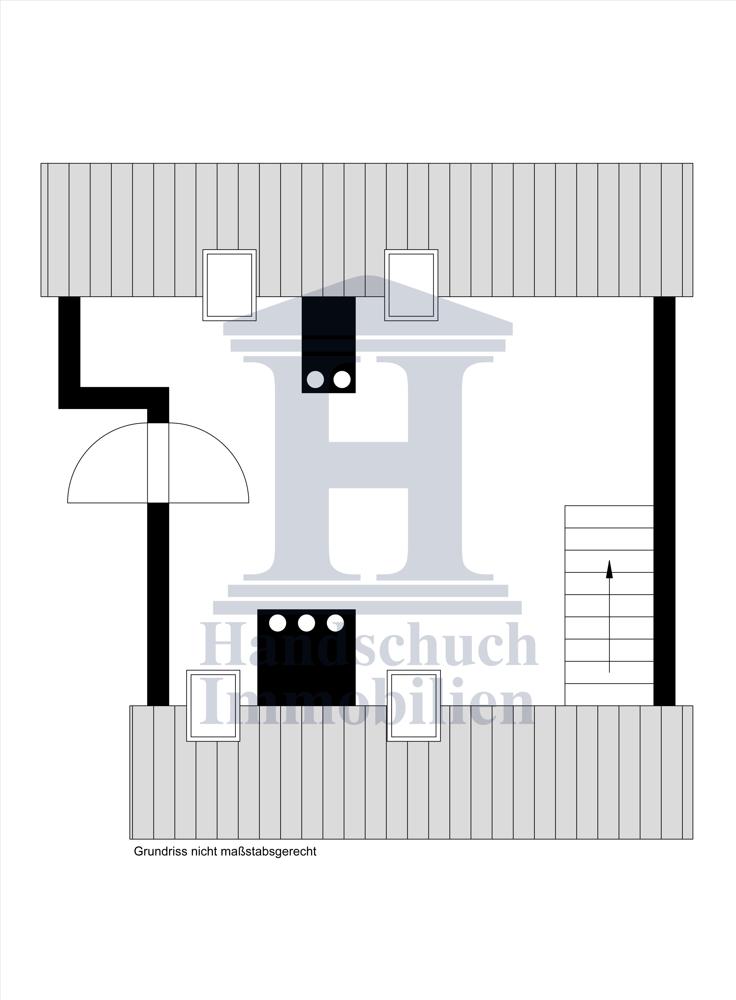 Grundriss Dachgeschossr Str.13e Spitzboden