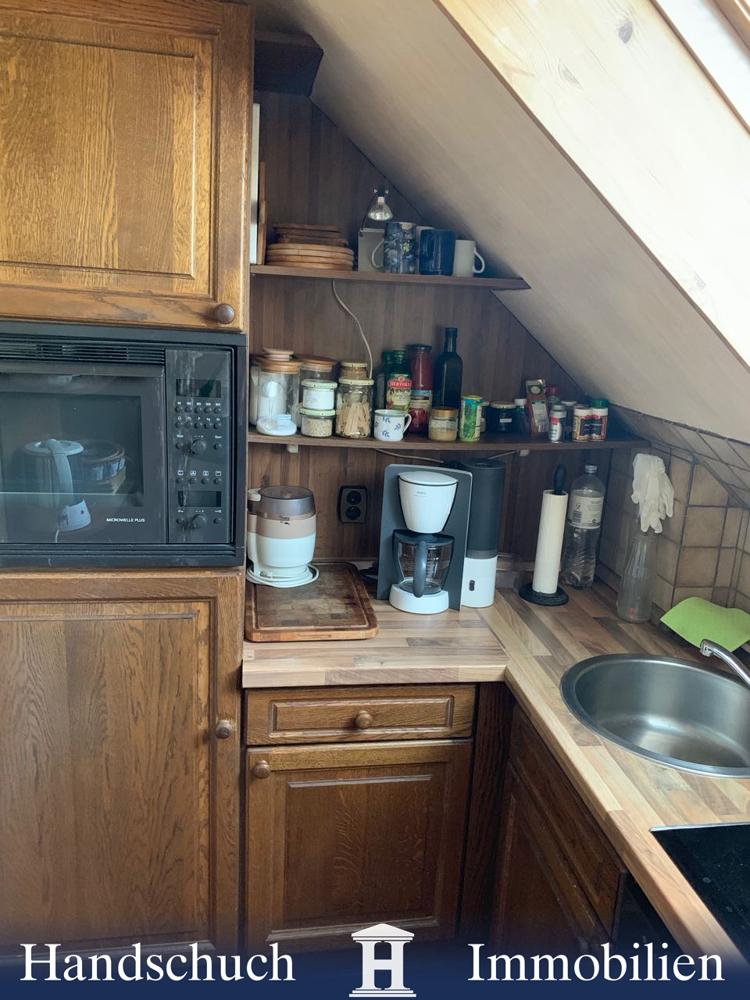 Einbauküche Dachgeschoss