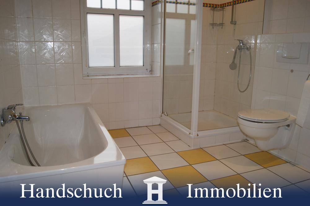 ... mit separater Dusche