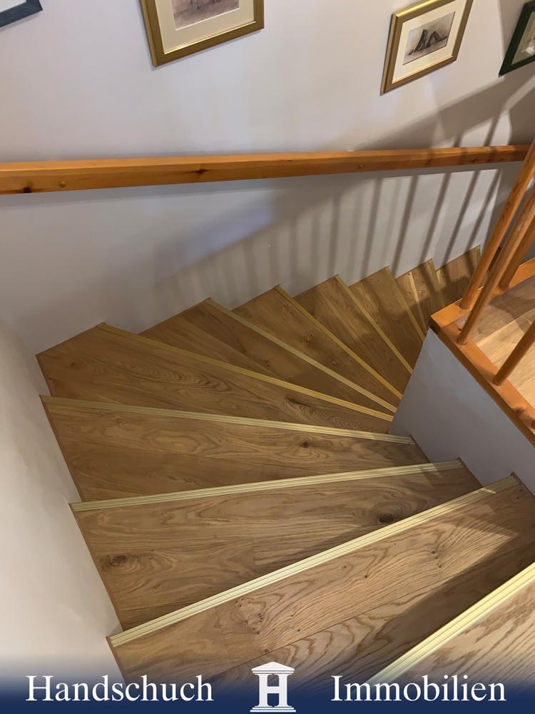 Echtholz-Treppe