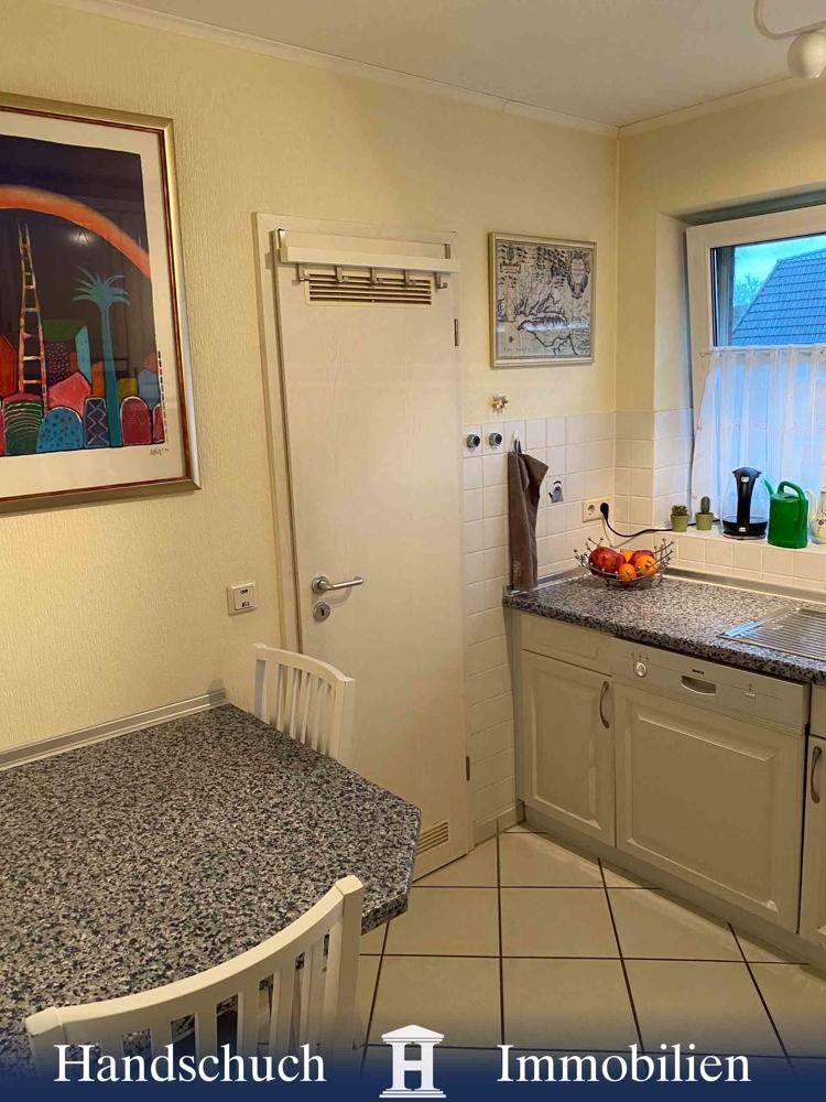 Blick zum Abstellraum in der Küchen d